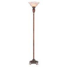 "Roman Bronze 71"" Decorative Torchiere Floor Lamp"