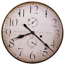 "Moment In Time Oversized  25"" Original Howard Miller V Wall Clock"