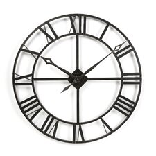 "Gallery Oversized 32"" Lacy Quartz Wall Clock"