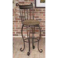 "Beau 30"" Swivel Bar Stool with Cushion"