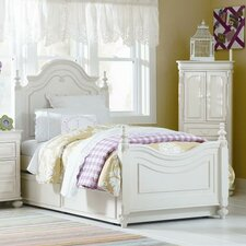 Charlotte Low Poster Bed