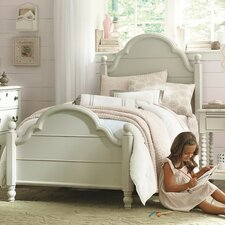 Inspirations by Wendy Bellissimo Low Poster Bed
