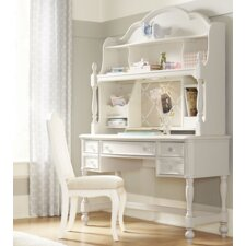 Harmony 3 Drawer Desk with Hutch