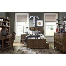 Kenwood Twin Panel Customizable Bedroom Set with Trundle