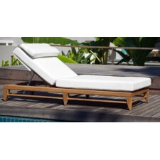 Limited Chaise Lounge with Cushion