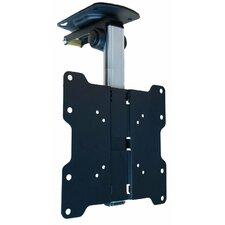 "Tilt Swivel Folding Under Cabinet and Ceiling LCD LED TV Mount for 17"" to 37"" TV"