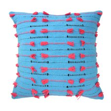 Mexico City Vivido Decorative Cotton Throw Pillow