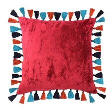 Mexico City Macarena Cotton Throw Pillow