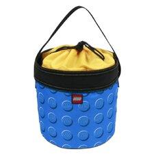 Small Lego Pattern Cinch Bucket