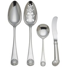 Royal Shell 4 Piece Place Hostess Setting