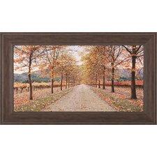 Napa Lane by Lance Kuehne Framed Photographic Print