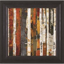 Red Amber I by Carmen Dolce Framed Painting Print