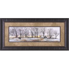 Hedgerow by Peter Sculthorpe Framed Painting Print