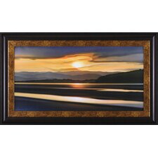 Last Light of Day by Ken Messom Framed Painting Print