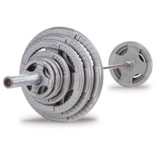 400 lbs Cast Grip Olympic Set