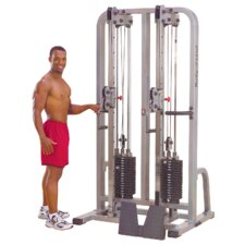 Pro Club Line Dual Cable Crossover Machine Column Gym