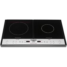 "23.5"" Electric Induction Cooktop with 1 Burner"