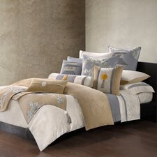 Lotus Temple Duvet Cover Collection