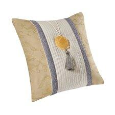 Lotus Temple Throw Pillow