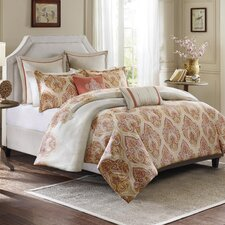 Kalia 3 Piece Duvet Cover Set