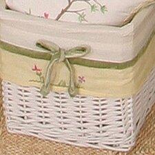 African Plains Wicker Basket