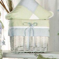 One Little Froggie Wicker Basket