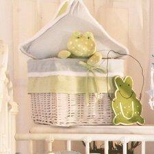 Sammy the Frog Wicker Basket