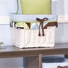 Modern Baby Boy Caffe Wicker Basket