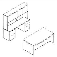 Kenwood Standard 3-Piece Desk Office Suite