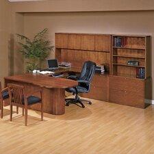Kenwood 6-Piece U-Shape Desk Office Suite