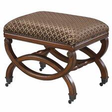 Da Vinci Imported Fabric Bench