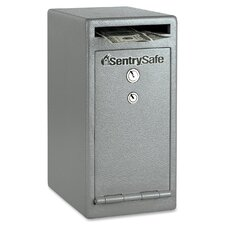 Dual Heads Key Lock Depository Safe
