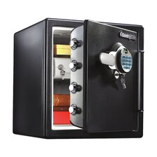 Fingerprint Water-resistant Dual-Lock Security Safe, 1.23 CuFt