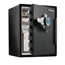 Fingerprint Water-resistant Dual-Lock Security Safe, 2.0 CuFt