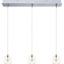 Starburst 3-Light RapidJack Pendant and Canopy
