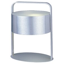 """Percussion 13"""" H 1 Light Table Lamp with Drum Shade"""