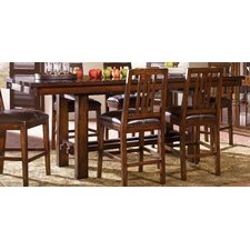 Mesa Rustica 7 Piece Dining Table Set