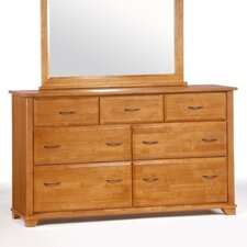 Spices Bedroom 7 Drawer Dresser with Mirror