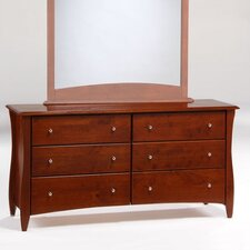 Spices Bedroom 6 Drawer Dresser