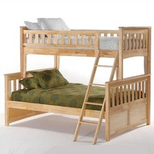 Ginger Twin over Full Bunk Customizable Bedroom Set