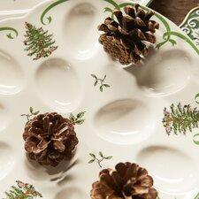 Christmas Tree Serve Devilled Egg Dish