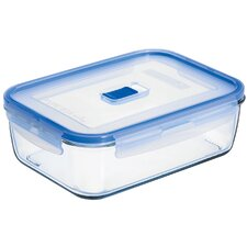 Pure Box Active 8.3-Cup Rectangular Storage Box with Lid (Set of 6)