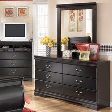 Westbrook 6 Drawer Dresser with Mirror