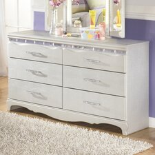 Zarollina 6 Drawer Dresser