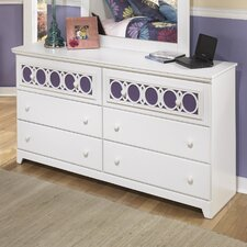 Zayley 6 Drawer Dresser