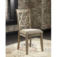 Mestler Side Chair in Antique White