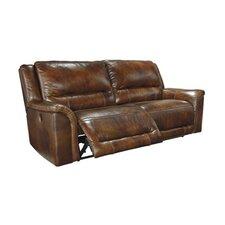 Jayron 2 Seat Reclining Leather Sofa