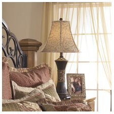 "Mariana 28.5"" H Table Lamp with Bell Shade (Set of 2)"