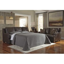 Corvan Queen Leather Sleeper Sofa
