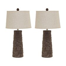 "Sinda 28.75"" H Table Lamp with Empire Shade (Set of 2)"